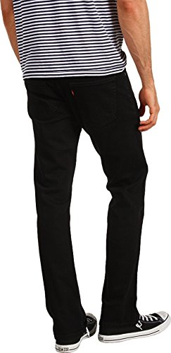 Levi's Men's 514 Straight fit Stretch Jean,  Black, 32x32