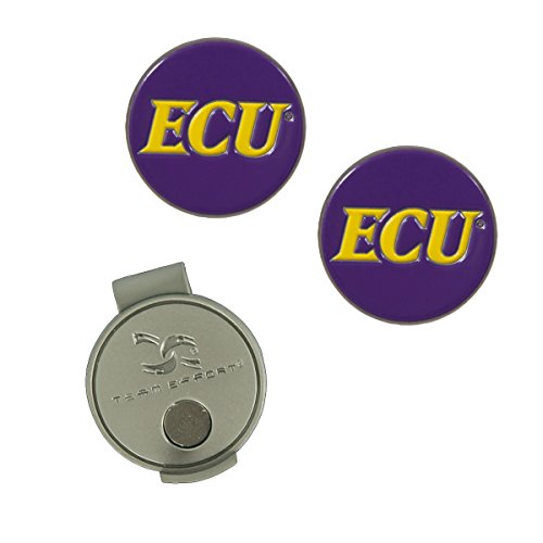 East Carolina Pirates Hat Clip and Ball Markers
