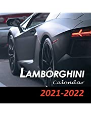 Lamborghini Calendar 2021-2022: January 2021 - February 2022, Automobile Calendar