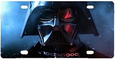 Darth Vader Space Custom Metal License Plate for Car Custom Car tag Panda Star War