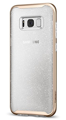 Spigen Neo Hybrid Crystal Glitter Galaxy S8 Plus Case with Flexible Inner Protection and Reinforced Hard Bumper Frame for Galaxy S8 Plus (2017)
