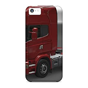 Durable Case For The Iphone 5c- Eco-friendly Retail Packaging(euro Truck Simulator 2 Scania)