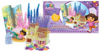 Penn Plax Dora Deco Aquarium Decorating (Dora The Explorer Magic Castle)