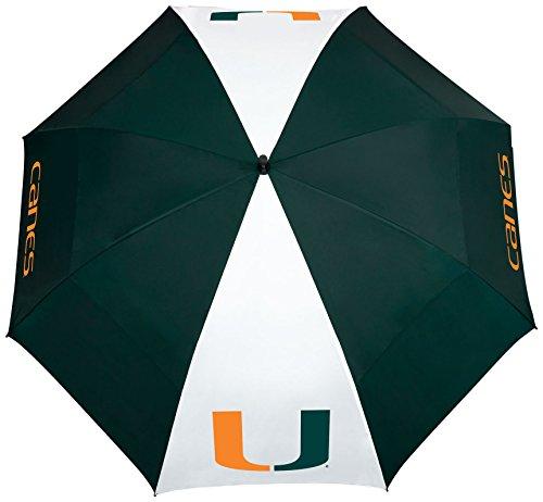 (Team Effort Miami Hurricanes Windsheer Lite Umbrella)