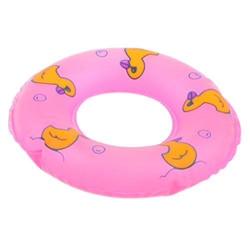 B Blesiya Flotador de Natación Rosa con Pintura de Pato Juguete de Piscina Baño para Niños Niñas 9cm: Amazon.es: Juguetes y juegos