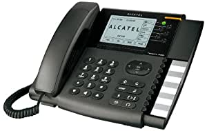 Alcatel Temporis IP800 - Teléfono VoIP, negro