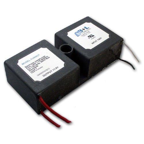 B+L Technologies #CV90021 120V-to-12V Transformer, 200W Max. Load