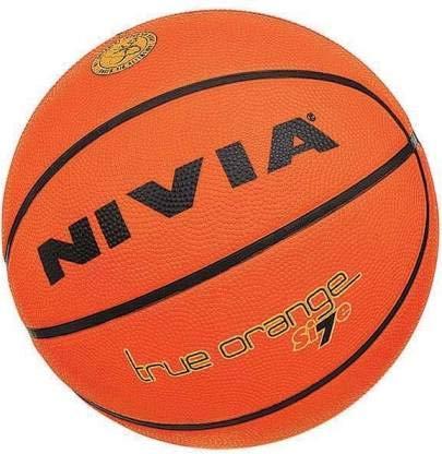 Buy Nivia True Orange Basketball Size 7 Orange Online At Low Prices In India Amazon In