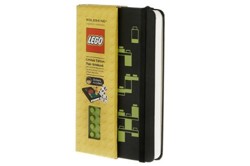 Moleskine LEGO Limited Edition Notebook, Pocket, Plain, Black, Hard Cover (3.5 x 5.5) by Moleskine (January 02,2012) ()
