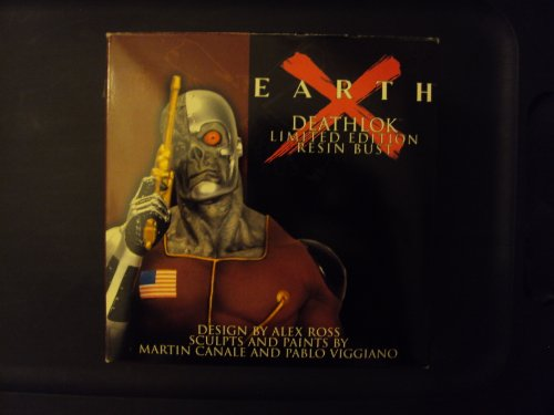 (Deathlok Resin Bust Earth X Metallic Paint Variant)