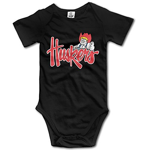 Cool Nebraska Cornhuskers Mascot Baby Onesies Newborn Clothes