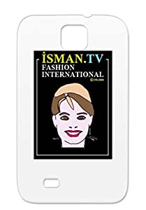 Elections News Politics 2008 Palin Isman Tv Sarah Isman Purple Skid-proof For Sumsang Galaxy S4 Sarah Case Cover