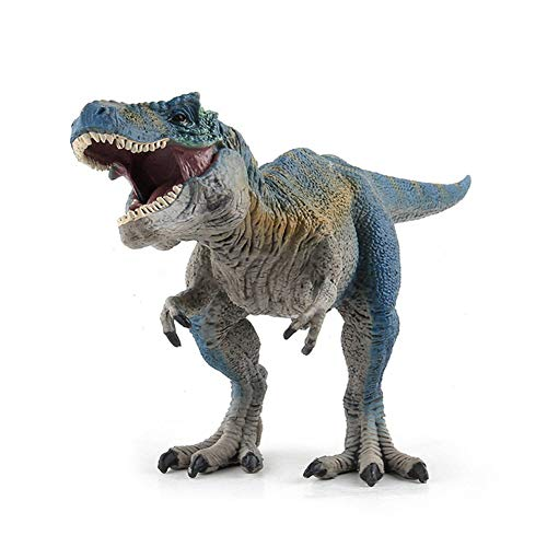 Tyrannosaurus Rex Figures, Realistic Plastic Dinosaur T-REX Toys for Kids and Toddler Creative Gifts (Blue) -