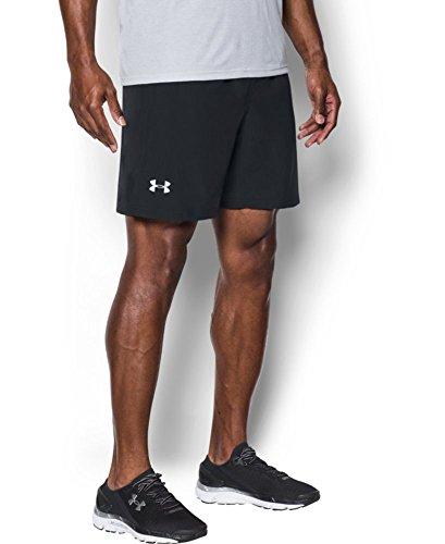 Under Armour Men's Speed Stride 7'Shorts, Black/Black, Medium