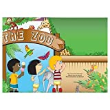 AmerCare 14'' x 10'' Full Color Animal Theme Activity Sheets, Case of 1000