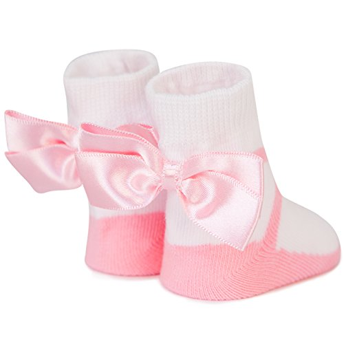 Ballerina Bow Trumpette 12-24 months Toddler Socks 6 Pairs