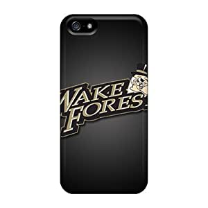 For Iphone Cases, High Quality Wake Forest Deamon Deacons For Iphone 5/5s Covers Cases