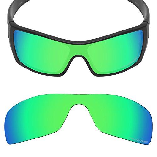 Mryok+ Polarized Replacement Lenses for Oakley Batwolf - Emerald - Batwolf Polarized