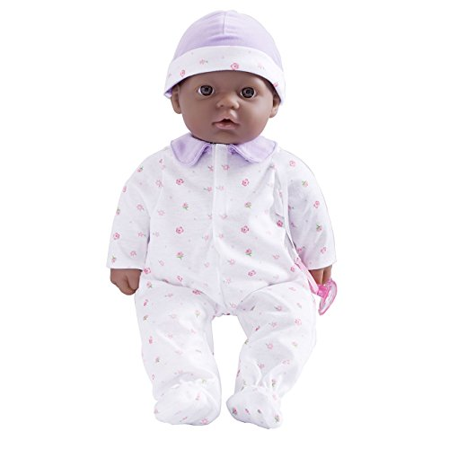 JC Toys La Baby Doll - African American, 16 Inch