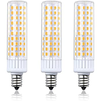 aluxcia dimmable 8 5w e12 led light bulb t3 t4 candelabra base e12 ceiling light 100w halogen. Black Bedroom Furniture Sets. Home Design Ideas