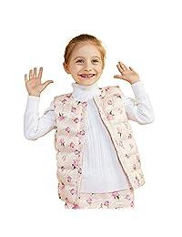 BOSIDENG Children's Cute Warm Vest Boys Girls Kids' Fashion Baby Down Vest