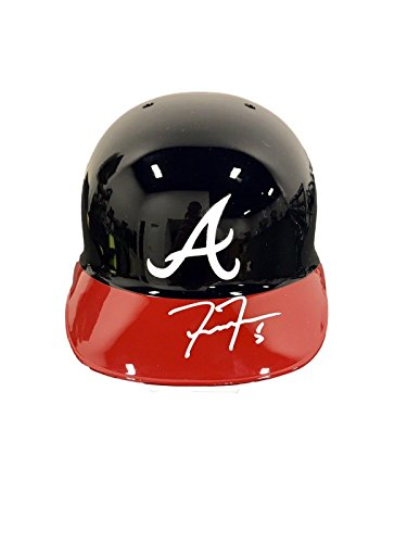 Freddie Freeman Atlanta Braves Signed Full Size Batting Helmet - JSA Certified - Autographed MLB (Freeman Autographed Baseball)