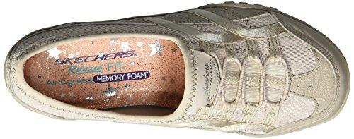 Well Natural Femme Skechers Easy Breathe Baskets Enfiler Versed Beige FE8Z8wq