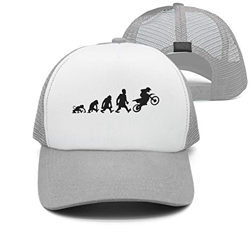 Youmaosy Evolution Motorcycle Fashion Mens/Womens Adjustable mesh Running Cap ()