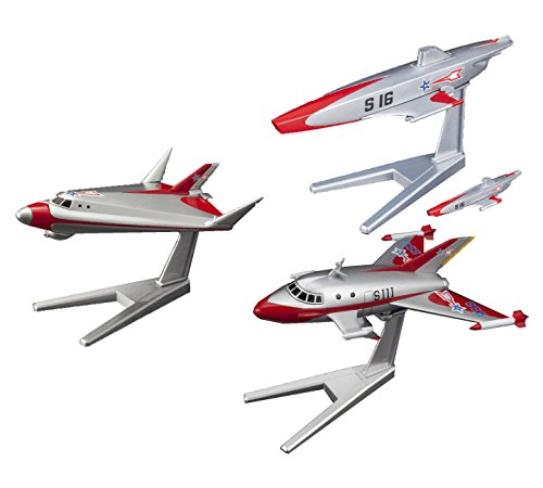 3 Bandai Ultraman Hobby Mecha Models – Sub VTOL, S-Submarine and Jet VTOL (Japan Import)