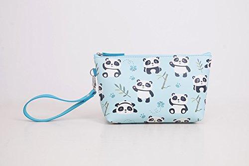 LULANKosmetiktasche kleine tragen - auf eine einfache schöne Paket Im Paket enthalten, 16,5 * 8 * 12,5 cm, 5 Katze.