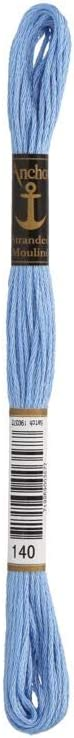 Anchor 6-Strand Embroidery Floss 8.75Yd-Copen Blue Light