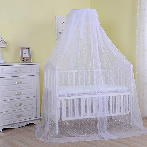 Pesp® Baby Infant Kid's Toddler Bed Dome Cots Mosquito Netting Covering Bugs Bed Net Mosquito Bar Frame Palace-style Crib Bedding Set