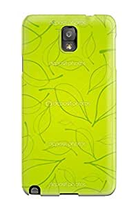 Awesome XPeNqKG13679pPJNk Earurns Defender Tpu Hard Case Cover For Galaxy Note 3- Fresh Leafy Print