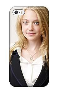 1481562K68453734 Case Cover Dakota Fanning Iphone 5/5s Protective Case hjbrhga1544