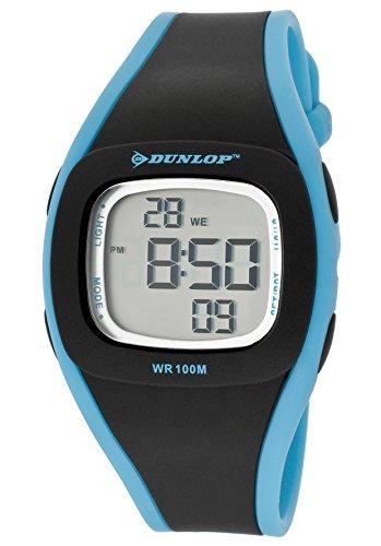 Dunlop Reloj Digital para Mujer de Automático con Correa en Resina DUN-198-L01: Amazon.es: Relojes