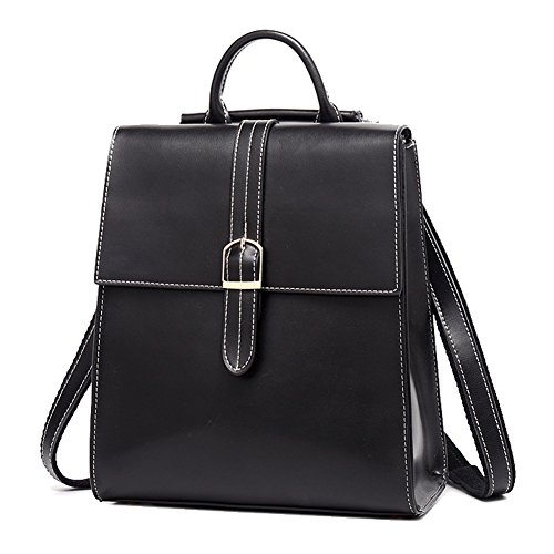 black Backpack Hand Trends Hopeeye Woman 1 Fashion black Elegant Bag Leather Crossbody Leather Bag xAAgqIpwP