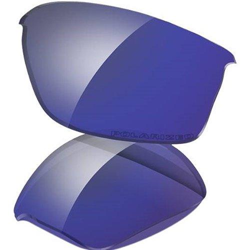 (Oakley Flak Jacket Adult Lens Kit Lifestyle Sunglass Accessories - Deep Blue Iridium Polarized / One Size)