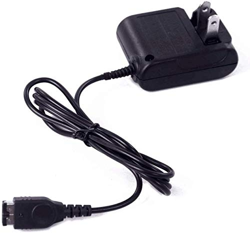 Gameboy Advance SP Charger, AC Adapter for Nintendo NDS and Game Boy Advance SP Systems Power Charger, Wall Travel Charger Power Cord Charging Cable 5.2V 450mA for GBA SP (Game Boy Advanced Sp Car)