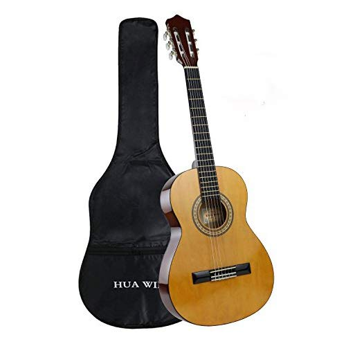 3/4 Size Classical Guitar for Beginners 36 inch Nylon String Children Acoustic Guitar Starter Kit with Gig bag (3/4 Size) Huafeng Jiangsu Cultural Industry Co. Ltd.