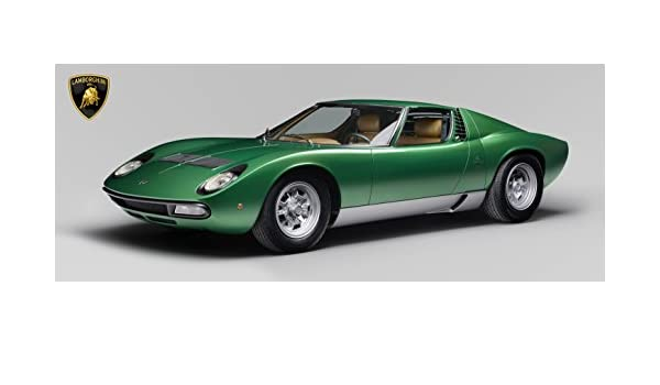 Amazon Com Ng Lamborghini Miura Poster 58x23 Art Gt Lemans Hypercar
