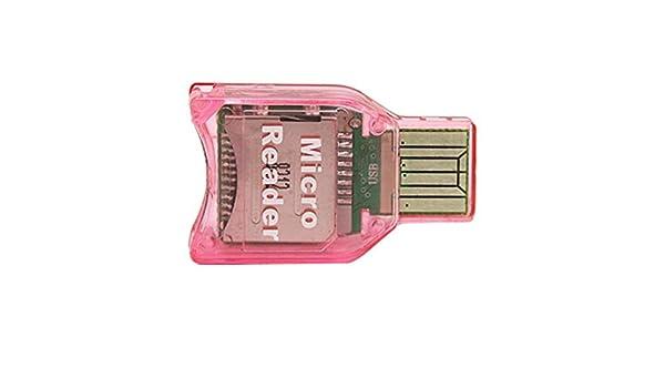 Amazon.com: eDealMax Mini Lector de tarjetas de Memoria USB ...