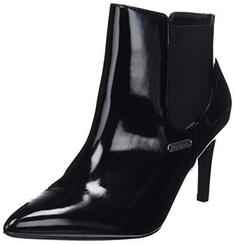 Negro 999 Botas Chelsea black Mujer Wells Para Jeans Pepe x8EwYqa8