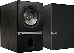 KEF Q100B Bookshelf Loudspeakers - Black Oak (Pair)