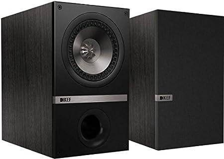 KEF Q100 Bookshelf Loudspeakers - Black Oak (Pair)