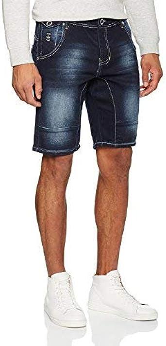 TALLA 30W. Firetrap Skeena Pantalones Cortos para Hombre