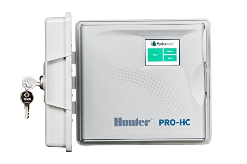 Hunter PRO-HC PHC-1200 Residential Outdoor Professional Grade Wi-Fi Controller With Hydrawise Web-based Software - 12 Station (Controller Hunter Irrigation)