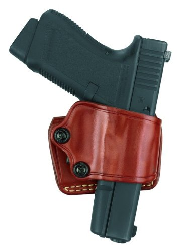 Gould & Goodrich 801-92F Gold Line Yaqui Slide Holster (Chestnut Brown) Fits BERETTA Cougar (all), 92 (all), 96 (all), Centurion, Brigadier-EXCEPT Vertec; COLT Double Eagle Commander, Double Eagle; GLOCK 17, 19, 22, 23, 24, 26, 27, 31, 32, 33, 34, 35, 36;