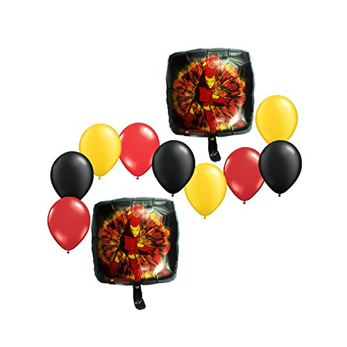 Iron Man Bouquet of Balloons 11pc