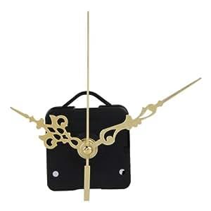 Maquinaria De Reloj Mecanismo Eje Horario Cuarzo Munitero Segundero Dorado