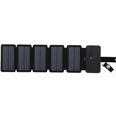 Plegable Cargador Solar Dual USB (5V 2A) Portátil Banco De ...